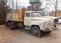 Мусоровоз КО-413 на шасси ГАЗ-53А #ВІ 5359 АВ. Полтавская область, Великая Багачка
