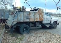Мусоровоз КО-413 на шасси ГАЗ-53А #ВІ 5359 АВ. Полтавская область, Велика Багачка