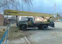Автоподъёмник ВС-22-МС на шасси ЗиЛ-431412 #ВІ 5459 ВН. Полтавская область, Великая Багачка