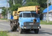 Автокран КС-3577 на шасси МАЗ-5334 #Т 339 КТ 45. Курганская область, Шадринск, улица Ефремова