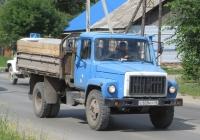 Самосвал ГАЗ-САЗ-4509 на шасси ГАЗ-4301 #С 828 КУ 45. Курганская область, Шадринск, улица Ефремова