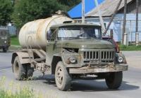 Ассенизационная машина на шасси ЗиЛ-130* #Е 168 ЕТ 45. Курганская область, Шадринск, улица Ефремова