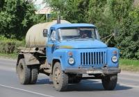 Ассенизационная машина КО-503В на шасси ГАЗ-53-12 #Е 128 АХ 45. Курганская область, Шадринск, улица Свердлова