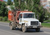 Мусоровоз КО-440-2 на шасси ГАЗ-3309 #Р 419 ЕС 45. Курганская область, Шадринск, улица Свердлова