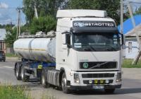 Тягач Volvo FH12* с полуприцепом-молоковозом  #В 441 КС 45. Курганская область, Шадринск, улица Ефремова