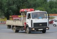 Самопогрузчик UMA343 на шасси МАЗ-437041-268 #Р 400 ВХ 45. Курган, Станционная улица