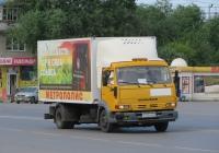 Фургон АФ-47415Е на шасси КамАЗ-4308 #У 526 ЕМ 45. Курган, Станционная улица
