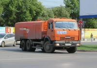 Каналопромывочная машина КО-512 на шасси КамАЗ-65115 #Е 327 ЕТ 45. Курган, Станционная улица