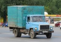 Фургон на шасси ГАЗ-3307 #У 626 КУ 45. Курган, Станционная улица