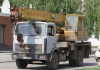 Автокран КС-35715 на шасси МАЗ-5337 #Е 462 КР 45. Курган, улица Володарского