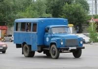 Вахтовый автобус ТС-3966  на шасси ГАЗ-53-12  #А 935 ВН 45. Курган, Станционная улица