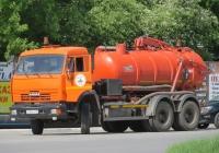 Каналопромывочная машина КО-507АМ на шасси КамАЗ-65115 #А 965 КХ 45. Курган, Станционная улица