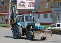 Экскаватор-бульдозер ЭО-2621А на базе трактора ЮМЗ-6*. Курган, Пролетарская улица