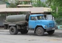 Ассенизационная машина МК-4А на шасси ЗиЛ-431412 #Т 007 КК 45. Курган, улица Куйбышева