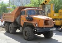 Самосвал на шасси Урал-55571-30 #У 888 КК 45. Курган, улица Куйбышева