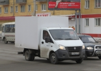 "Фургон на шасси ГАЗ-А23R22 ""Газель Next"" #М 168 КХ 45. Курган, Пролетарская улица"