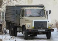 Самосвал ГАЗ-САЗ-4509 на шасси ГАЗ-4301 #В 469 ВВ 45. Курганская область, Шадринск, улица Володарского