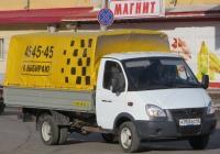 """Грузовое такси на базе ГАЗ-330202* """"Газель"""" #А 353 КО 45. Курган, Пролетарская улица"""