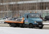 Эвакуатор на шасси ЗиЛ-5301В2 #У 461 КА 45. Курган, улица Ленина