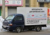 Фургон на шасси Hyundai Porter #В 728 КТ 45. Курган, улица Куйбышева