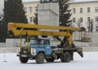 Автоподъёмник АГП-22 на шасси ЗиЛ-130* #В 652 ЕР 45. Курган, улица Гоголя
