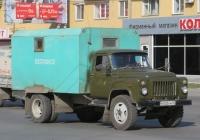 Аварийно-ремонтная машина водоканала на шасси ГАЗ-53-12 #В 002 КМ 45. Курган, Пролетарская улица