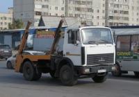 Бункеровоз МКС-3501 на шасси МАЗ-5551А2 #У 005 КА 96. Курган, улица Карла Маркса