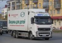Фургон на шасси Volvo FH 400 #В 801 РС 197. Курган, Пролетарская улица