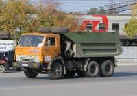 Самосвал КамАЗ-55111 #Т 300 РК 74. Курган, Станционная улица