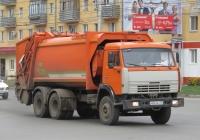Мусоровоз МКЗ-4704-01 на шасси КамАЗ-65115 #М 843 КХ 45. Курган, Пролетарская улица