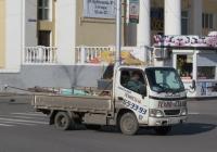 Грузовой автомобиль на шасси Toyota HiAce #Х 512 КК 45. Курган, улица Гоголя