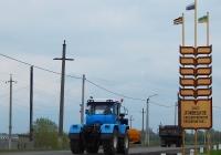 Бульдозер на базе трактора  ХТЗ-17221 #4442 КЕ 46. Курская область, Мантуровский район, с. Сейм