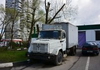 Фургон на шасси ЗиЛ-433360. Москва, улица Вучетича