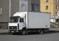 Автомобиль Купава-478800 с изотермическим кузовом 430010 на шасси МАЗ-4370* #В 577 КТ 45. Курган, Пролетарская улица