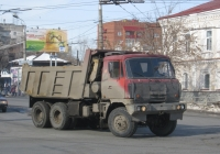 Самосвал Tatra Т815-2 #Т 110 КР 45. Курган, Пролетарская улица