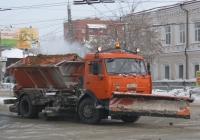 Комбинированная дорожная машина МД-43253 на шасси КамАЗ-43253 #А 813 КХ 45. Курган, Пролетарская улица