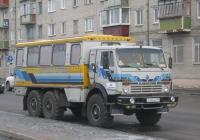 Вахтовый автобус НефАЗ-4208 на шасси КамАЗ-43101 #Х 244 АХ 45. Курган, улица Савельева