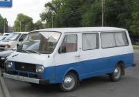 """Микроавтобус РАФ-2203-01 """"Латвия"""" #А 405 НА 23. Анапа, Красноармейская улица"""