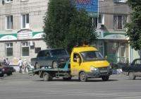 Эвакуатор на шасси ГАЗ-322132 #У 502 ЕМ 45. Курган, улица Куйбышева