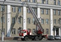 Пожарная автолестница АЛ-30(43114)ПМ-506Е на шасси КамАЗ-43114. Курган, улица Куйбышева