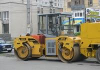 Дорожный каток двухвальцовый DM-13-VD. Курган, Пролетарская улица