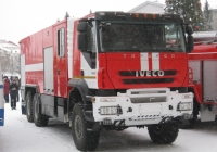Пожарная автоцистерна АЦ-6,0-100(IVECO AMT)-45ВР на шасси IVECO AMT. Курган, улица Гоголя
