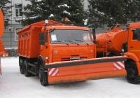 Машина комбинированная уборочная МД-651 на базе самосвала Камаз-45147. Курган, улица Гоголя