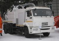Машина илососная АКНС-8-65115 на шасси  КамАЗ-65115-3082-97(D3). Курган, улица Гоголя