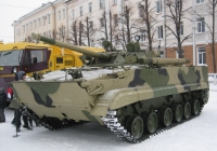 Боевая машина пехоты БМП-3. Курган, улица Гоголя