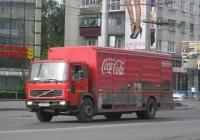 Фургон на шасси Volvo FL8 #А 523 ЕХ 45. Курган, улица Коли Мяготина