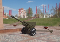 Дивизионная 76-мм пушка ЗИС-3. Иваново, Шереметпевский проспект