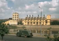 Мусоровоз МС-4 на шасси ГАЗ-51А. Москва, Краснопресненская набережная