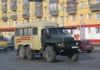 Вахтовый автобус КАвЗ-42243 на шасси Урал-4320 #Е 368 РА 74. Курган, Пролетарская улица