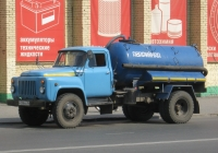 Вакуумная машина КО-503В на шасси ГАЗ-53-12 #У 008 КЕ 45. Курган, улица Куйбышева